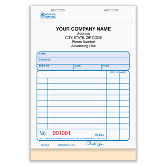 sales receipt forms