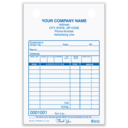 sales register forms