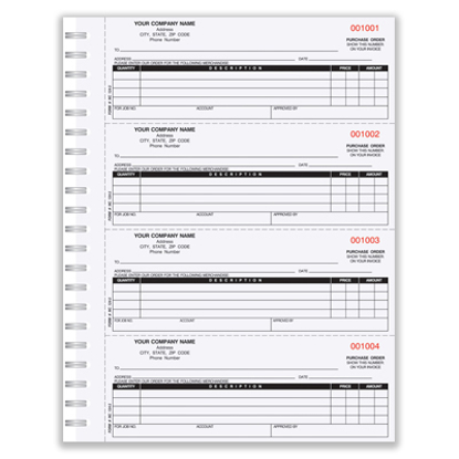 purchase order forms online