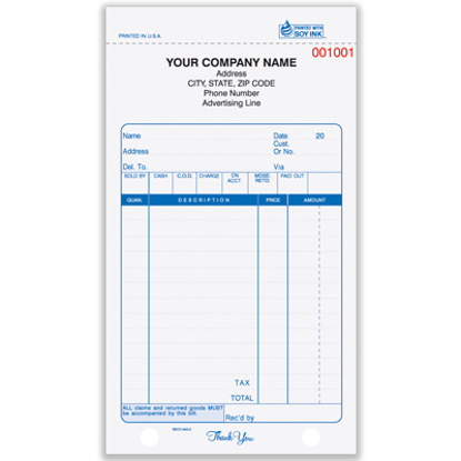 custom sales order forms