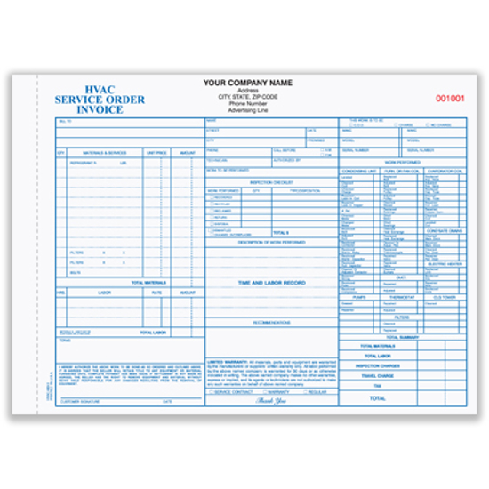 Picture of Home Heating, Ventilation & Air Conditioning Form (HVAC-683-3)