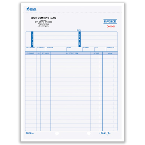 business invoice form