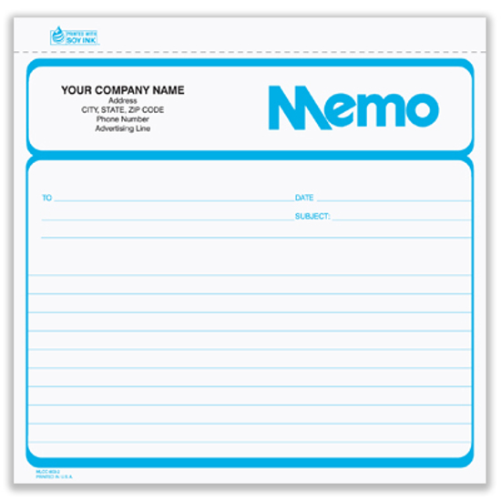 business memo form