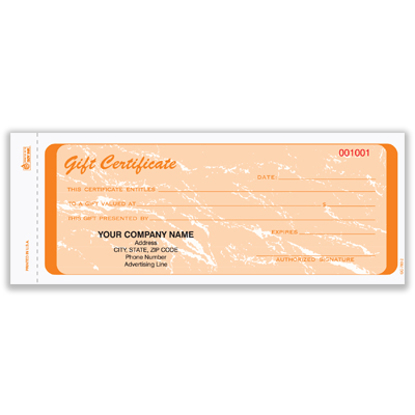 blank gift certificate forms