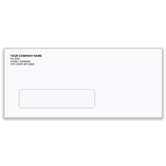 Picture of #10 Envelope - Regular-single window (ENV-9911)