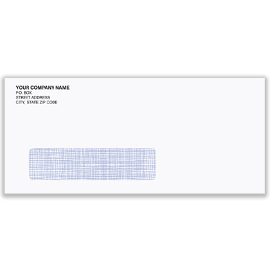 Picture of #10 Envelope - Tinted Self Sealing-single window (ENV-9939)