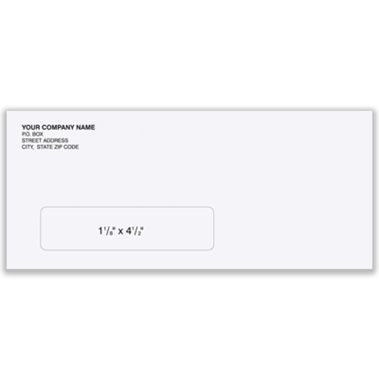 Picture of #10 Envelope - Self Sealing-no window (ENV-9918)