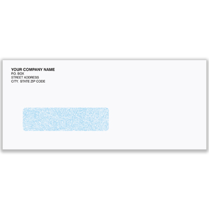 Picture of #9 Automotive Invoice Envelope - Security Window (ENV-9905)