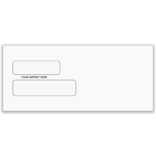 Picture of #10 Envelope - Regular-double window (ENV-9912)