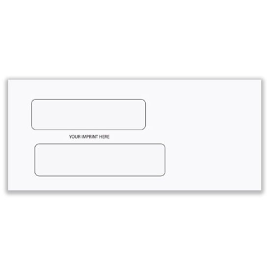 Picture of #9 Envelope - Double Window (ENV-9907)