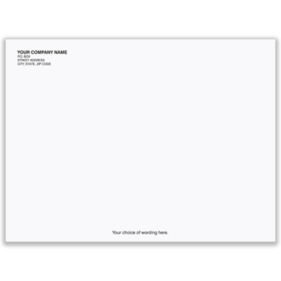Picture of White Envelope - 9 x 12 - 28# - Imprinted (ENV-9834)