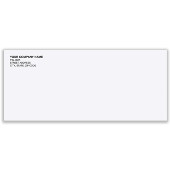 Picture of #10 Envelope - Regular-no window - recycled (ENV-9963)