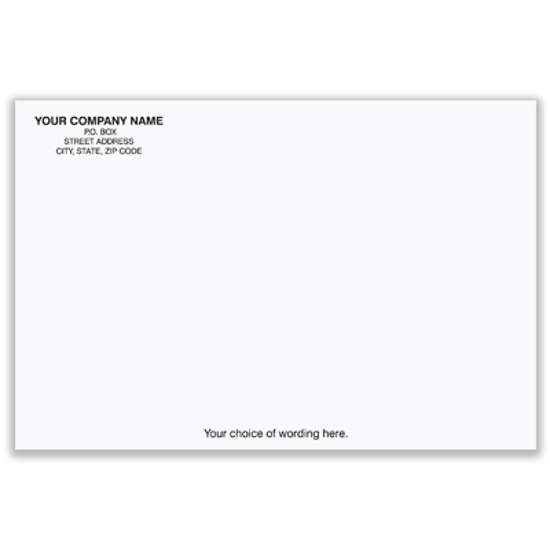 Picture of White Envelope - 6 x 9 - 24# - Imprinted (ENV-9831)