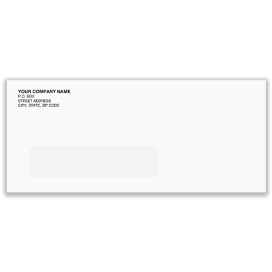 Picture of #10 Envelope - Regular-single window - recycled (ENV-9964)