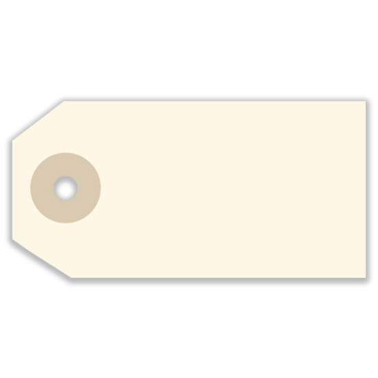 Picture of Blank Tag - Manila Size 1 (SU-1131)