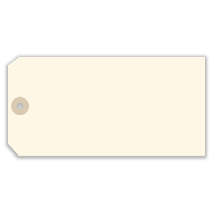 Picture of Blank Tag - Manila Size 8 (SU-8131)