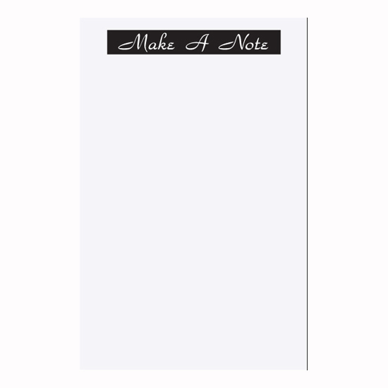 Picture of Note Pads - 100 Sheets 2 3/4 x 4 1/4 (NP-2000)