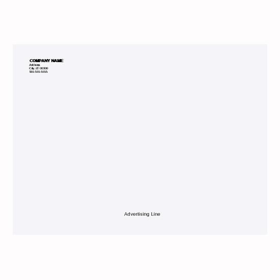 Picture of Tyvek Envelopes - 9 x 12 - 20# - Imprinted (ENV-9839)